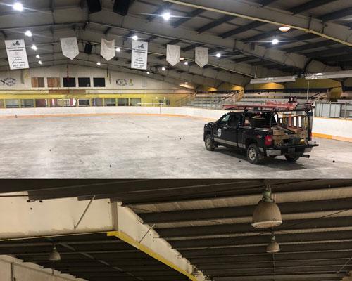 Hockey Rink LIghting
