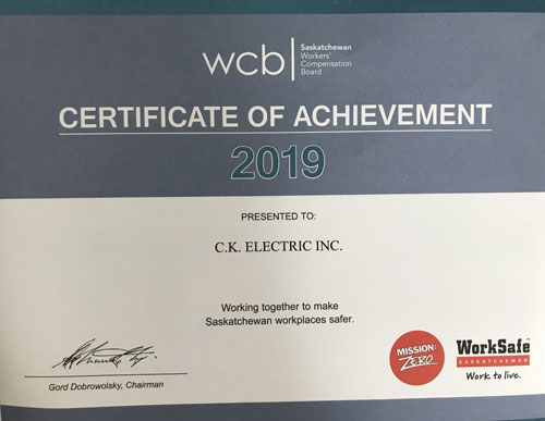WCB Certification